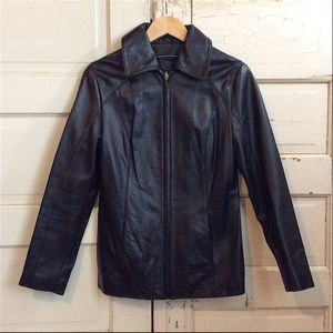 Wilsons Leather Zippered 'Genuine Leather' Jacket